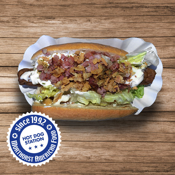 Hot Dog Gyros Bacon