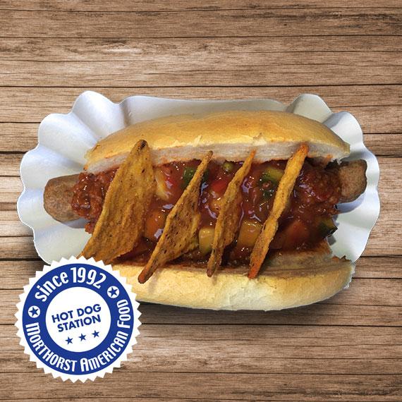 Hot Dog Texas Chilli